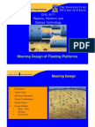 Mooring Design of Floating Platforms - Univ of Western Australia presentation