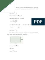 Problemas sobre ecuaciones de segundo grado