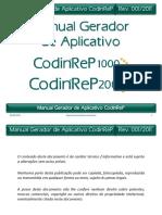 Manual do Gerador de Aplicativo CodinReP