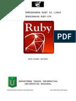 Ruby gtk bagian 3