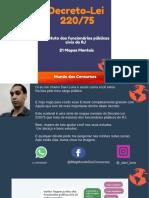 E-book-Decreto-Lei-220-75