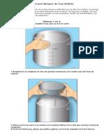 Comment distiller de l'eau