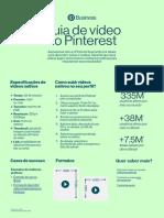 Guia de videos do Pinterest