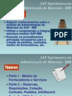 SAP - Suprimentos em Administracao de Materiais - MM Parte 1
