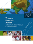 Toward Universal Access