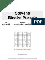 Binaire Puzzels Mix Eentjes