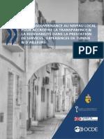Bonne Gouvernance Au Niveau Local Tunisie