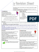 LITERACY REVISION SHEET