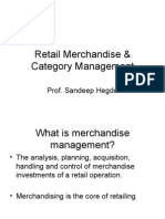 Session 6 - Retail Merchandise & Category Management