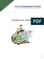 Quaderno Metodo di Studio