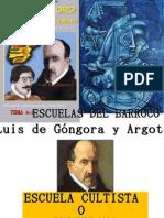 TEMA N°3 ESCUELAS DEL BARROCO