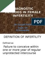 DIAGNOSTIC METHODS IN FEMALE INFERTILITY