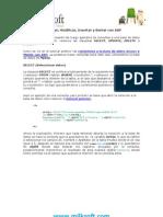Tutorial 9 - Consultar, Modificar, Insertar y Borrar con ASP