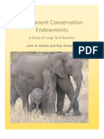 Permanent Conservation Endowments
