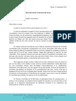 [Français] La Fête de Saint Vincent de Paul 2021