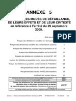 Annexe 5 - Tableaux d'analyse préliminaire des risques (APR)