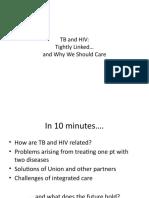 HIV/AIDS and Tuberculosis (Dr. Paula Fujiwara)