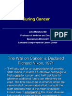 Curing Cancer (John Marshall, M.D.)