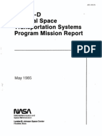 STS-51D Natonal Space Transportation Systems Promgram Mission Report