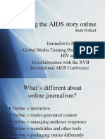 Writing the AIDS Story Online (Ruth Pollard)
