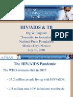TB and HIV/AIDS (Peg Willingham)
