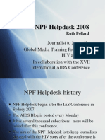 The NPFhelpdesk