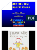 Pediatric Therapeutic Issues (Dr. John Bernard Ziegler)