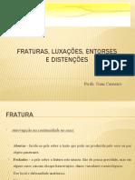 Fraturas_2c Luxações e Entorses