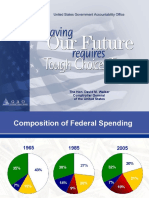 Saving For Our Future Requires Tough Choices Today (David M. Walker)