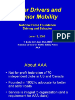 Older Drivers and Senior Mobility (T. Bella Dinh-Zarr, Ph. D., MPH)