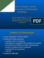 HIV/AIDS in Thailand (Sombat Thanprasertsuk, M.D., M.P.H.)