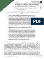 SOUSA Antimitotic activity towards sea urchin eggs of dichloromethane