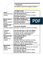 What's on in Haringey Libraries April 2011
