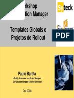 5.2-Workshop SolMan - Global Template - Syteck - First Team - Dez 2008 - Pt