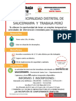 Afiche Muni 2021_final Descolmatacion Canal Saucepampa