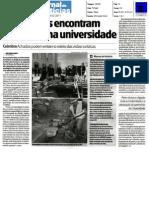 Escavações encontram 'tesouros' na UC / Jornal de Notícias
