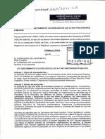 Proyecto de Ley 00265-2021-CR