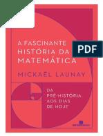 Mickael Launay - A Fascinante História Da Matemática-Difel (2019)