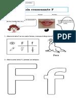 Guía Consonante F Word