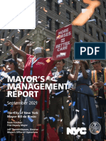 Mayor's management report