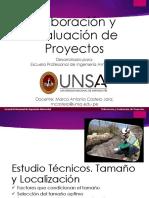 032 Elaboración y Evaluación de Proyectos Estudio técnicos