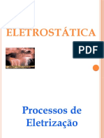 Eletrostática - processos de eletrização