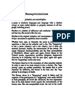 Octavio Paz - Recapitulations (from Alternating Current, 1973)