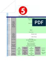 TV5 and AksyonTV Program Schedule