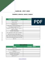 variables  primera sesion