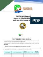 CUESTIONARIO PROCESO DE ESCUCHA AE