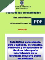 Teoria de las probabilidades, 11 de mayo 2021