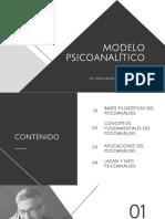 Modelo Psicoanalitico