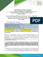 Guia Desarrollo Estudio de Caso Unad Diplomado Hseq 2021