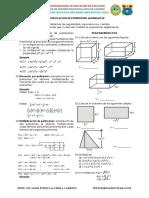 3-Act09. Multiplicación de expresiones algebraicas